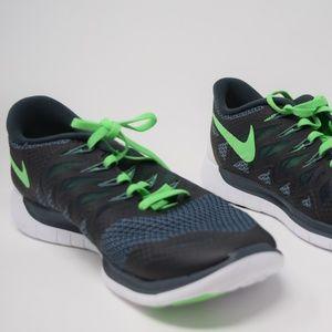 Nike Flex 2014 Rn 642791 017 Herren Sportschuhe BlackWhite